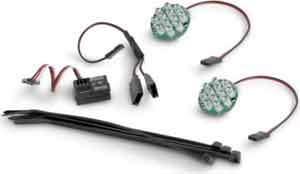 LED LIGTH WITH BATTERY INDICATOR SET (BLUE) HPI