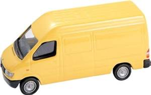 MB SPRINTER VAN AMARELA MODEL POWER MINIS