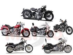 MOTO MAISTO 1:18 COLLECTION MAISTO