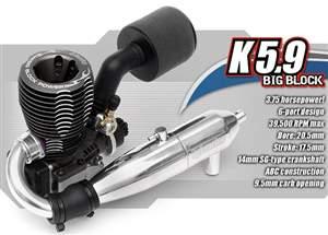 MOTOR K5.9 COM RECOIL HPI