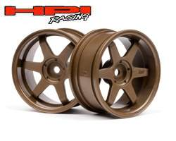 RODA TE37 26mm BRONZE (6mm OFFSET) HPI