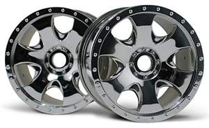 WARLOCK WHEEL CHROME (83x56mm/2PÇS) HPI
