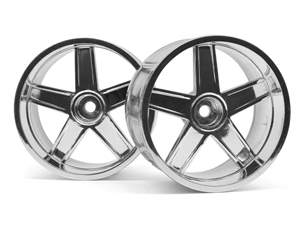 LP32 WHEEL MF TYPE CHROME (6mm HPI