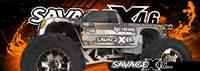 AUTOMODELO A COMBUSTAO OFF-ROAD RTR SAVAGE X 4.6, ESCALA 1/8, COM RADIO 2.4GHZ HPI