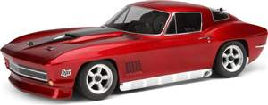 AUTOMODELO ON-ROAD RTR NITRO RS4 3 EVO 1967 CHEVROLET CORVETTE, 1/10, RADIO 2.4GHZ HPI